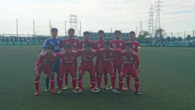U-18リーグOSAKA 1部(第14節 )  VS 東大阪大学柏原高校 ●2-3