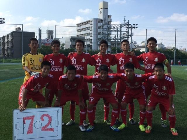 U-18リーグOSAKA 3部(第16節 )  B VS 大阪朝鮮高校 ○2-0