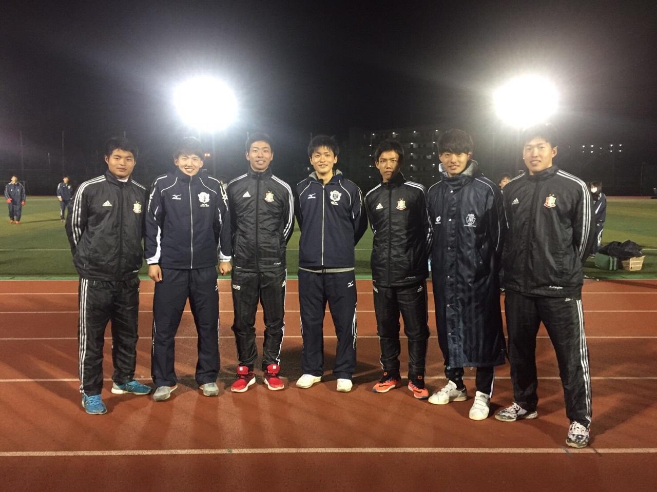 関西大学サッカー部と合同練習をおこないました
