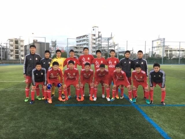 KJ 1年生大会準決勝 VS 金光大阪 〇2-1
