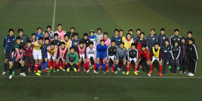 Aチームが関大サッカー部と合同練習を行いました。
