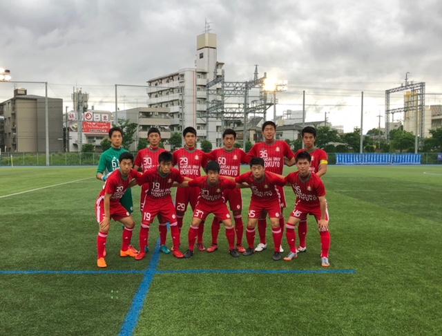 1部L⑩ A VS ガンバ大阪B ○2-1