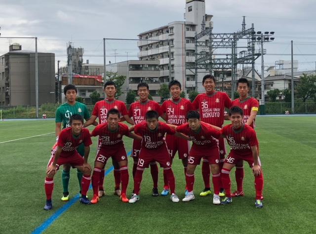 1部L⑫ A VS 大阪学院 ●0-1