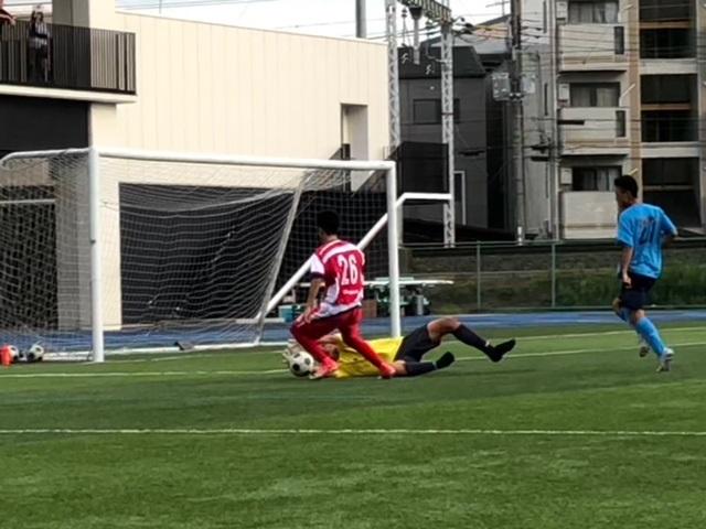 Aチーム TM VS 徳島市立 〇3-1