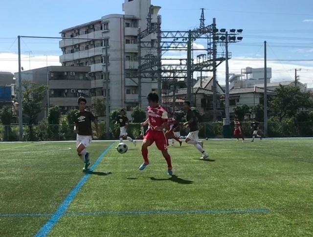 AチームTM VS 一条 〇4-1