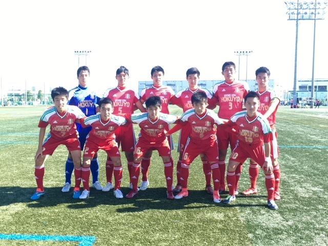 選手権大会6回戦 VS大商大高校 〇3-0