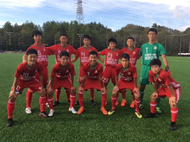KJ1年生大会 決勝トーナメント1回戦 VS神戸弘陵 ●0-2