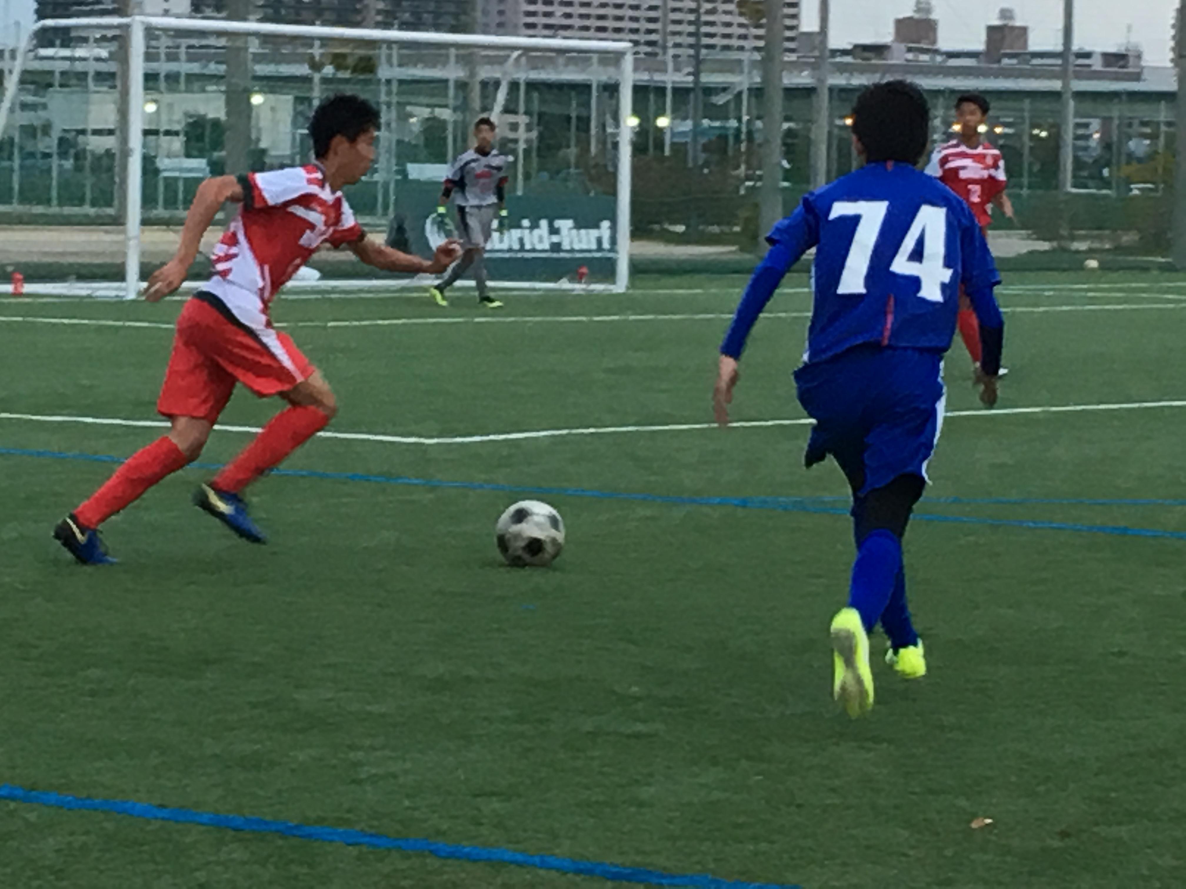 Bチーム TM vs東大阪大柏原B ○1-0