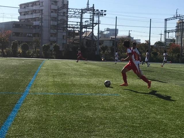 AチームTM VS 三田学園 △2-2