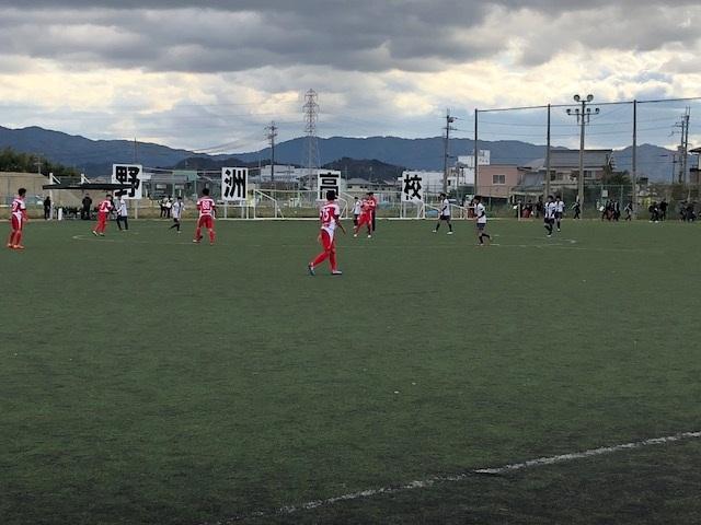 AチームTM VS 野洲 ○2-0