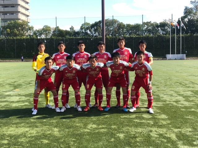 選手権大会準々決勝 VS大阪学院大学高校 ●0-2