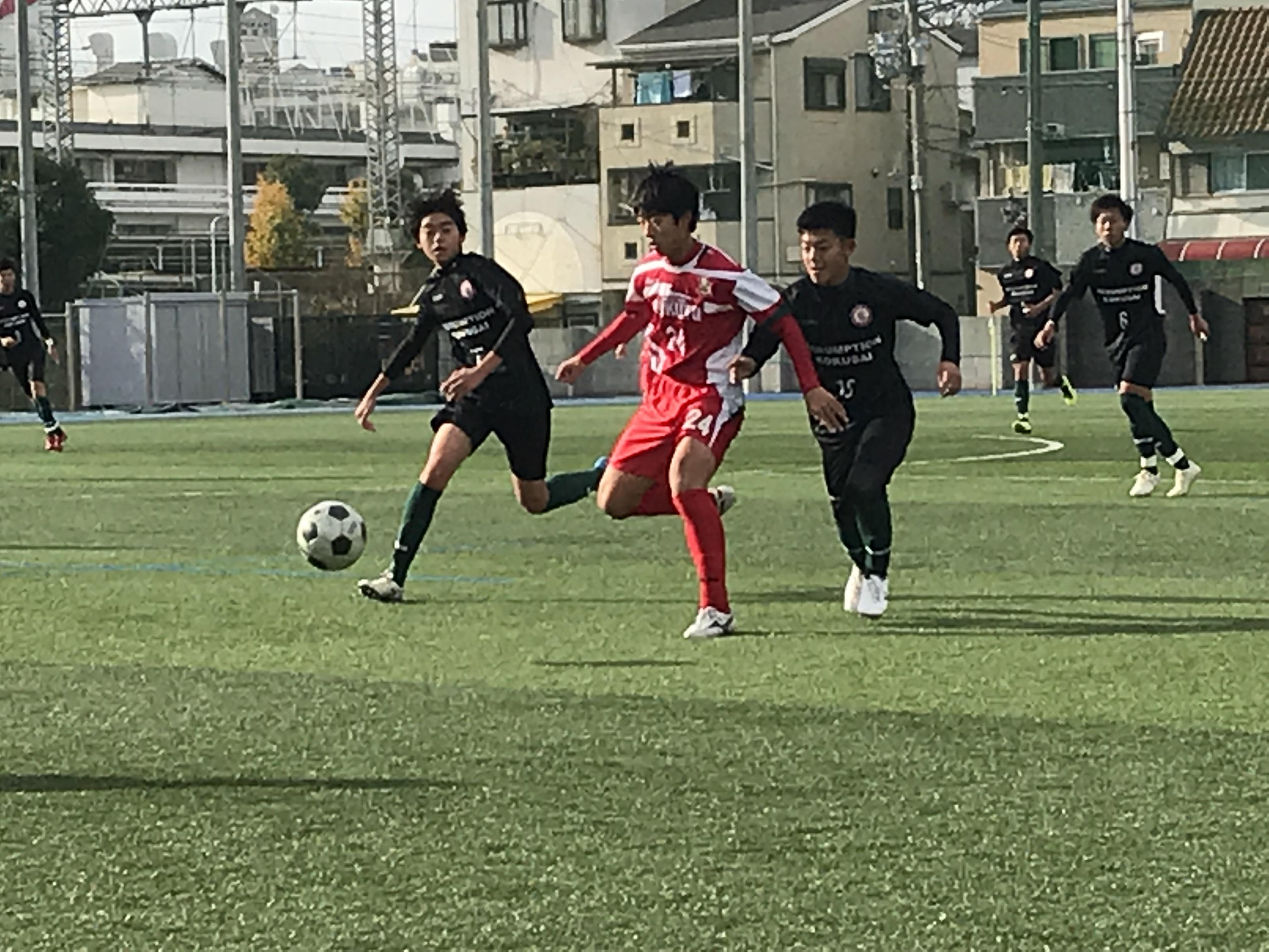 1年生 TM VS アサンプション国際 〇5-2
