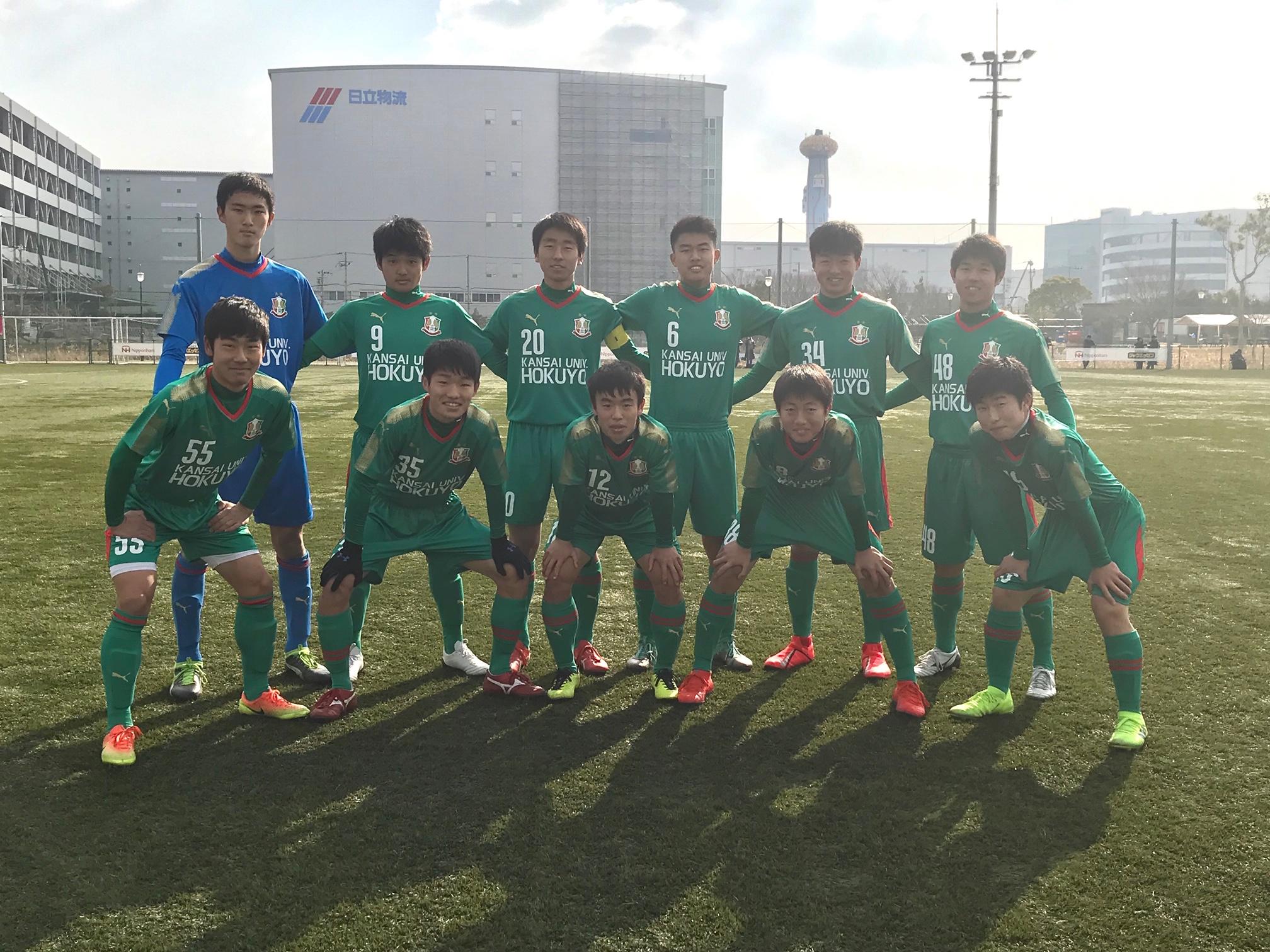2部L④ B VS セレッソ大阪U-18B 〇1-0
