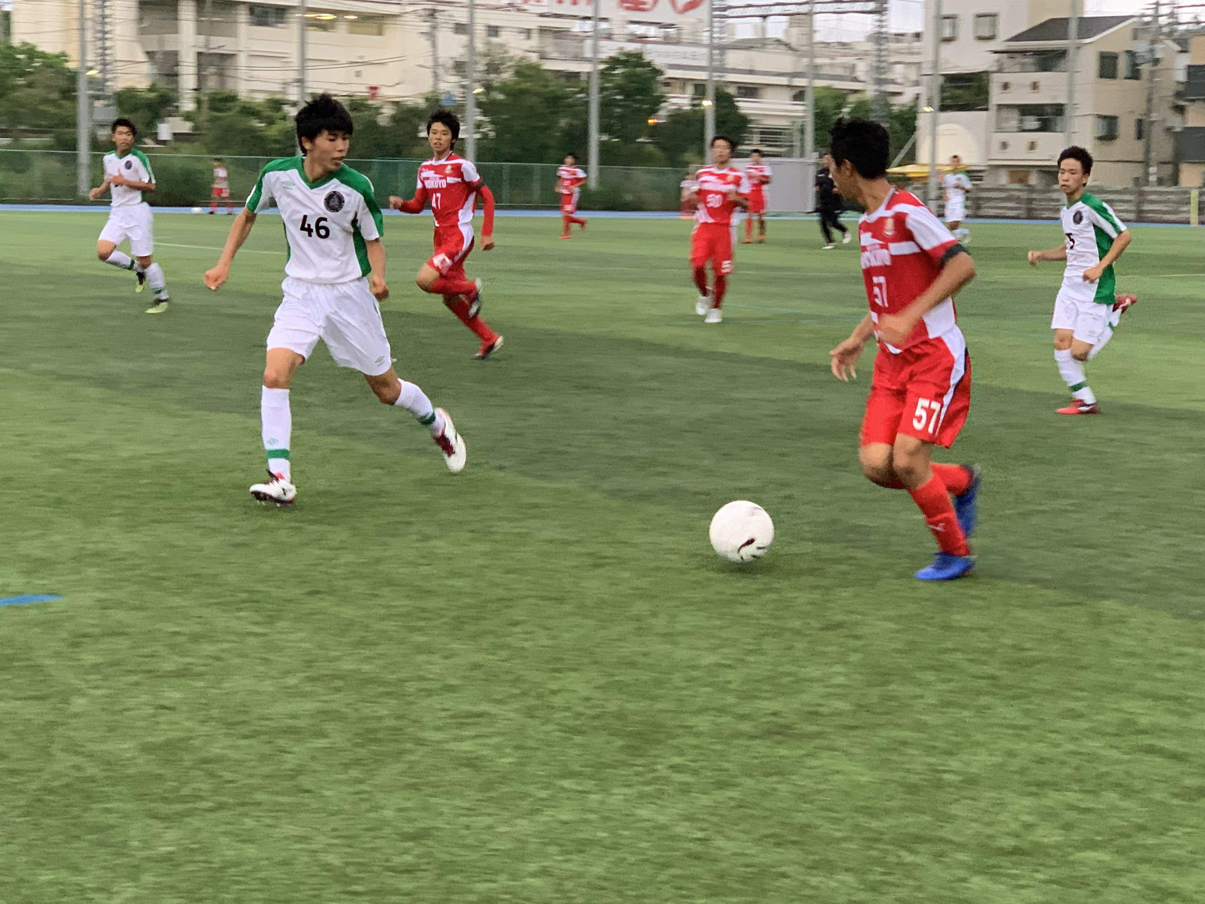 コリアジャパン② 1年生 VS一条 ●2-3