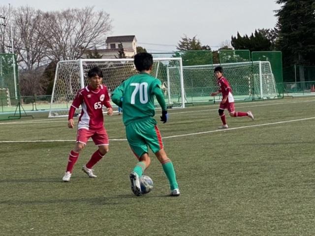TM Avs 三田学園 ●0-2